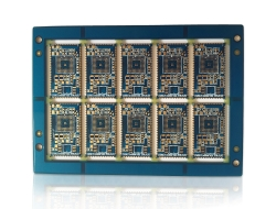 6 layers of Bluetooth board double blind orifice