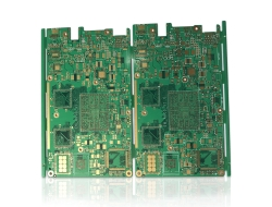 8-layer board OSP + immersion gold mixed process